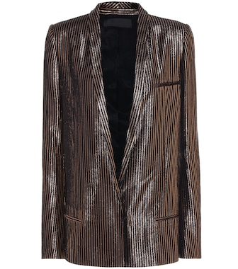 Haider Ackermann - Wool and silk-blend blazer - mytheresa.com