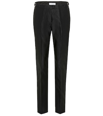 Gabriela Hearst - Armon mid-rise slim cotton pants - mytheresa.com
