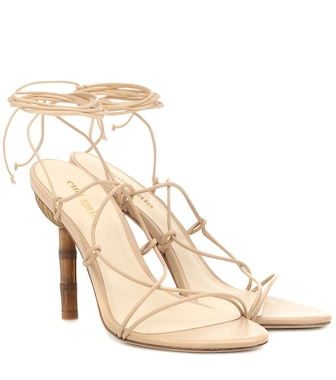 Cult Gaia - Soleil leather sandals - mytheresa.com