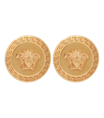 Versace - Tribute Medusa stud earrings - mytheresa.com