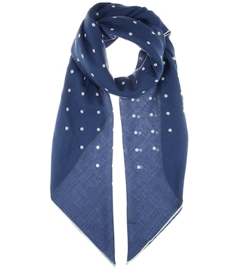 Loro Piana - Ascot cashmere and silk-blend scarf - mytheresa.com