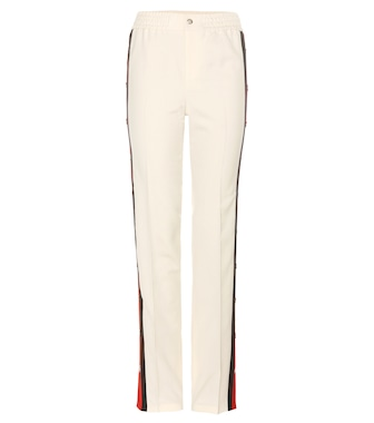 Gucci - Wool and silk trousers - mytheresa.com