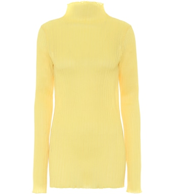 Jil Sander - Ribbed-knit top - mytheresa.com
