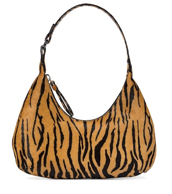 By Far - Baby Amber pony hair shoulder bag - mytheresa.com
