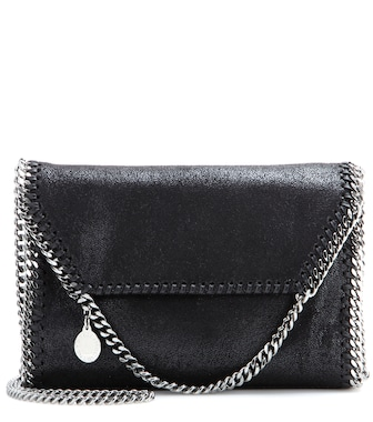 Stella McCartney - Falabella Shaggy Deer shoulder bag - mytheresa.com