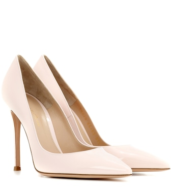 Gianvito Rossi - Gianvito 105 patent leather pumps - mytheresa.com