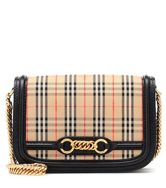 Burberry - The 1983 Check Link shoulder bag - mytheresa.com