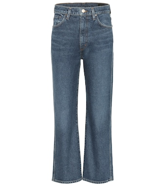 Goldsign - High-Rise Cropped Jeans - mytheresa.com