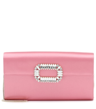 Roger Vivier - Exclusive to Mytheresa – Evening Envelope satin clutch - mytheresa.com