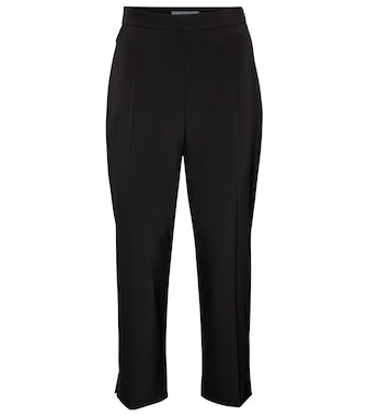 Prada - High-rise cropped pants - mytheresa.com