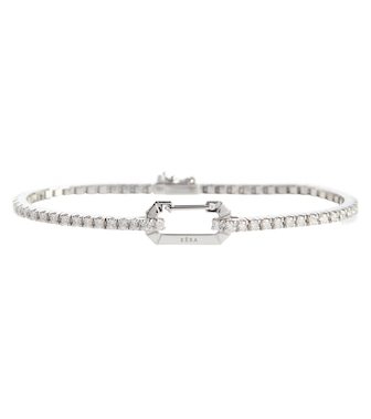 EÉRA - Bracelet Paris en or blanc 18 ct et diamants - mytheresa.com