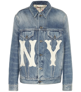 Gucci - NY Yankees denim jacket - mytheresa.com