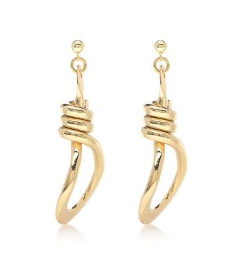 TOHUM Design - Bonda 22-kt gold-plated earrings - mytheresa.com
