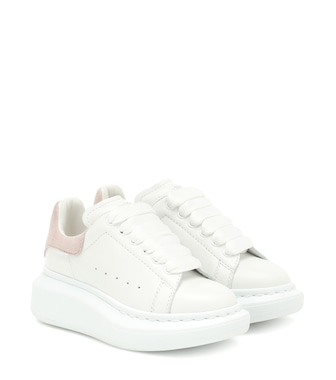 Alexander McQueen Kids - Leather sneakers - mytheresa.com