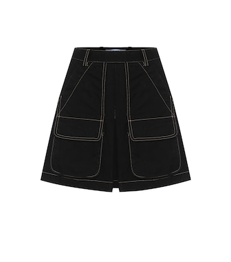 Matthew Adams Dolan - Cotton-denim miniskirt - mytheresa.com