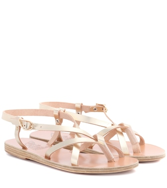 Ancient Greek Sandals - Semele leather sandals - mytheresa.com