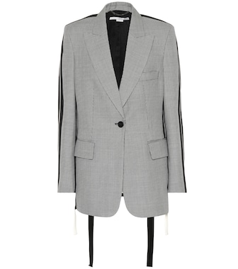 Stella McCartney - Giacca blazer in lana - mytheresa.com