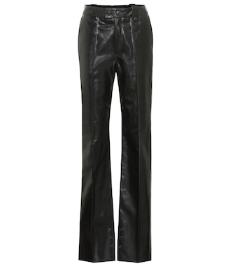Kwaidan Editions - Faux leather pants - mytheresa.com