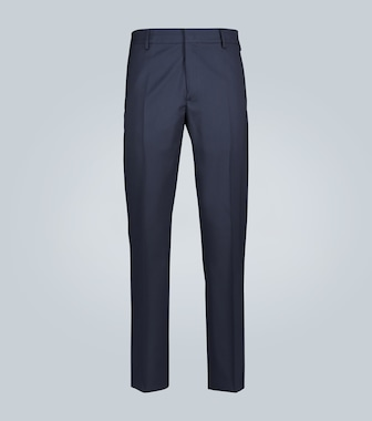 Loro Piana - Wool flannel pants - mytheresa.com