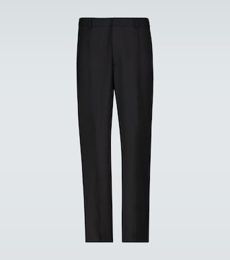 Valentino / Garavani - Valentino logo-striped side panel pants - mytheresa.com