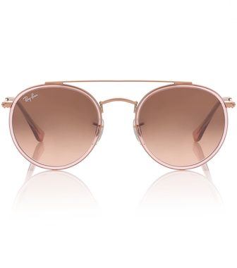 Ray-Ban - Round Double Bridge sunglasses - mytheresa.com