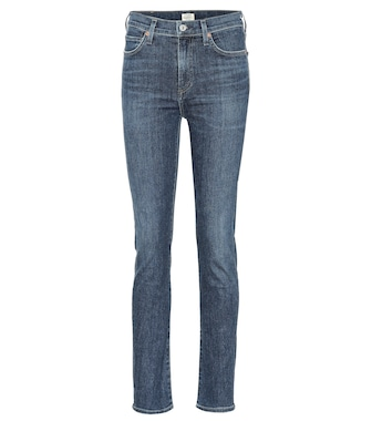 Citizens of Humanity - Harlow high-rise slim jeans - mytheresa.com