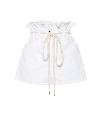 Valentino - High-rise denim shorts - mytheresa.com