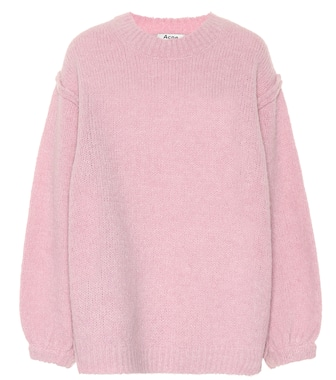 Acne Studios - Alpaca and wool-blend sweater - mytheresa.com