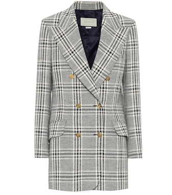 Gucci - Checked wool-blend jacket - mytheresa.com