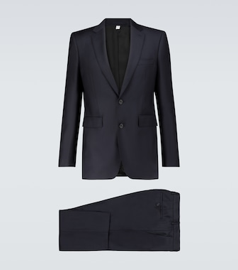 Burberry - Classic single-breasted wool suit - mytheresa.com
