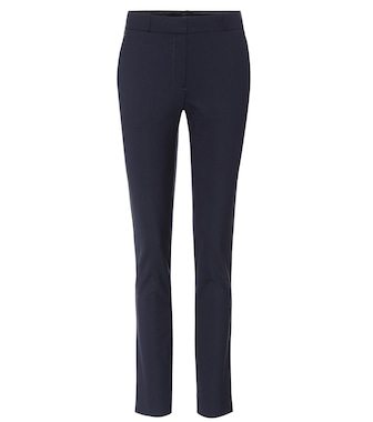 The Row - Franklin stretch wool-blend trousers - mytheresa.com