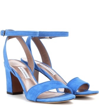 Tabitha Simmons - Leticia suede sandals - mytheresa.com