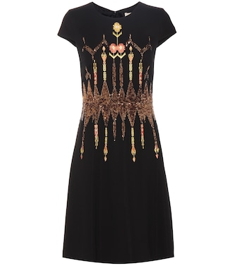 Etro - Sequinned embroidered dress - mytheresa.com