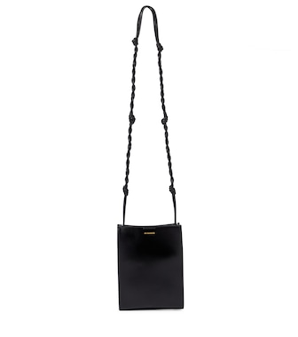 Jil Sander - Tangle Small leather shoulder bag - mytheresa.com