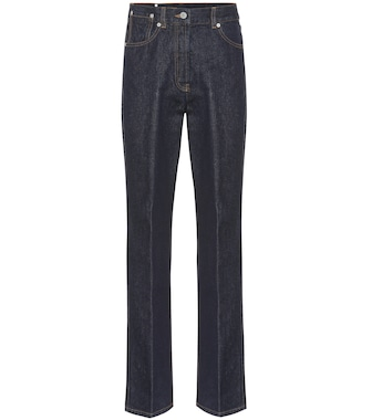 Dries Van Noten - High-rise straight jeans - mytheresa.com