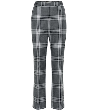 Marni - High-rise straight wool pants - mytheresa.com