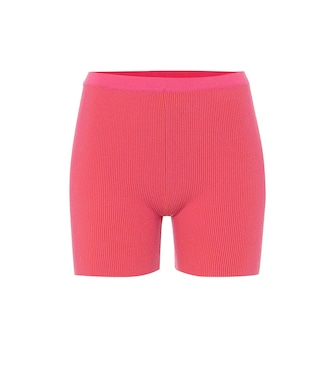 Jacquemus - Le Short Arancia ribbed-knit shorts - mytheresa.com