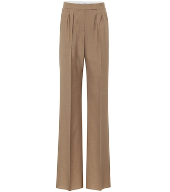 Max Mara - Galea mohair and silk straight pants - mytheresa.com