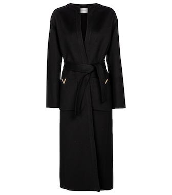 Valentino / Garavani - Valentino belted wool and cashmere coat - mytheresa.com