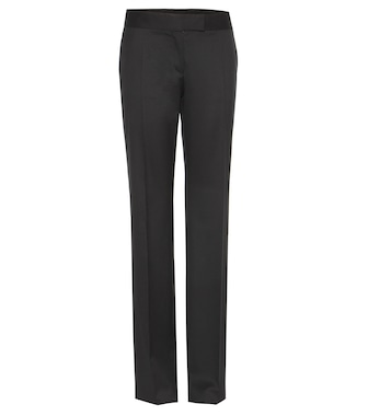 Stella McCartney - Jasmine wool-twill trousers - mytheresa.com