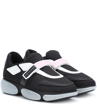 Prada - Cloudbust fabric sneakers - mytheresa.com