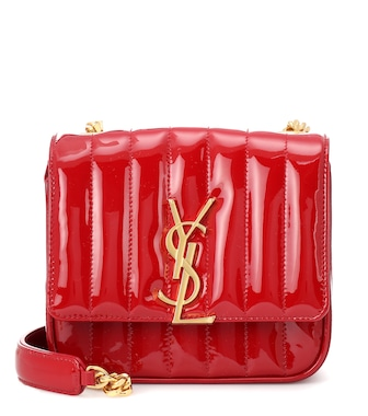 Saint Laurent - Small Vicky leather crossbody bag - mytheresa.com