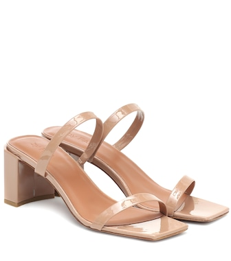 By Far - Tanya patent leather sandals - mytheresa.com