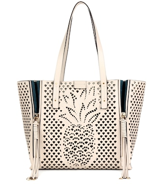 Chloé - Milo Medium leather tote - mytheresa.com