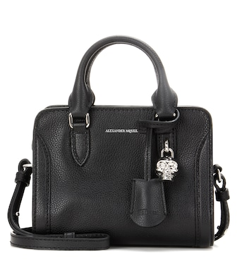 Alexander McQueen - Padlock Mini leather shoulder bag - mytheresa.com
