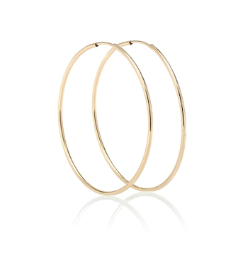 Loren Stewart - Nakita 14kt gold infinity hoop earrings - mytheresa.com