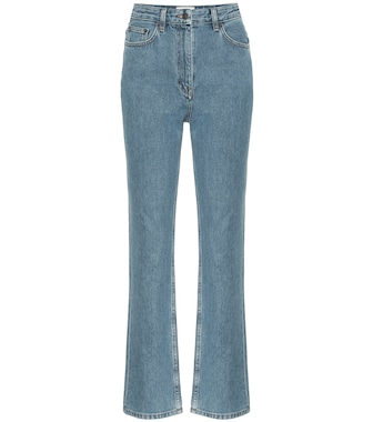 The Row - Charlee high-rise cropped jeans - mytheresa.com