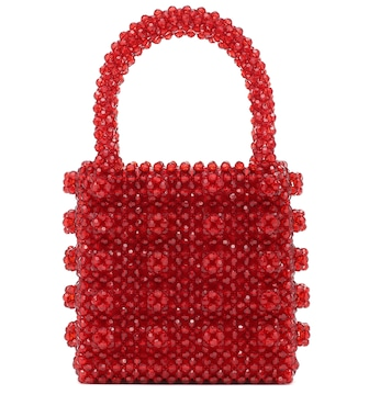 Shrimps - Antonia beaded tote - mytheresa.com
