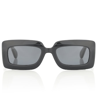 Gucci - Double G rectangular sunglasses - mytheresa.com