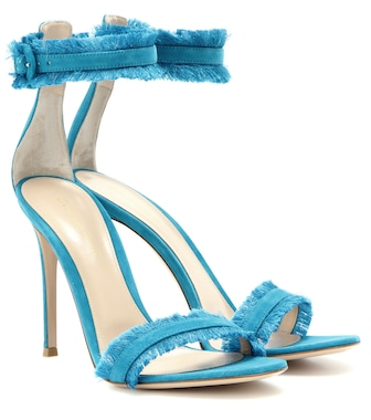 Gianvito Rossi - Caribe suede sandals - mytheresa.com